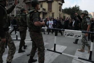 Egipt: Armata anunta dizolvarea Parlamentului si suspendarea Constitutiei