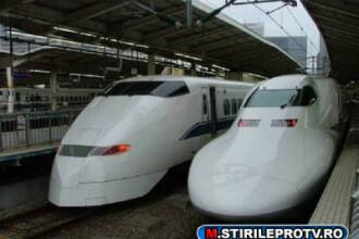 Vezi cum arata cel mai rapid tren din lume. Poate atinge si 500 km/h! FOTO