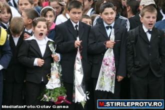 30 de milioane - absentele elevilor romani in semestrul I de scoala