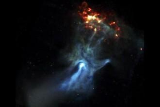 Fotografie impresionanta,facuta de NASA! Mana lui Dumnezeu vazuta in spatiu