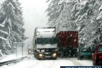 ANM: ninsori si viscol in toata Romania, pana vineri. Prognoza pe trei zile