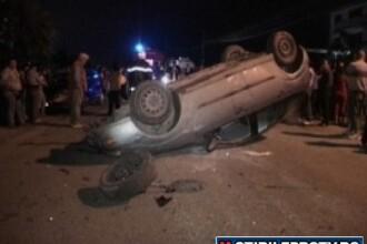 7 in masina, in goana pe sosea de la discoteca. 1 mort si 6 raniti