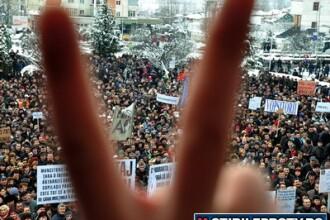Proteste in toata tara impotriva noului Cod al Muncii