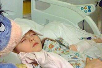 Calvar la 7 ani: fetita care se hraneste printr-un tub introdus in inima