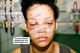 FOTO. Chris Brown da vina pe Satana pentru noile poze cu Rihanna batuta