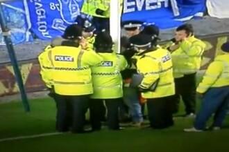 Cea mai inedita scena de pe un teren de fotbal din acest an. VIDEO