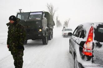 Armata e pregatita sa intervina pentru deszapezire cu 4.000 de militari si 1.000 de mijloace tehnice