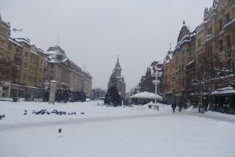 Sarbatori de iarna cu vreme calduroasa in Timisoara. Vom avea temperaturi de peste 10 grade Celsius