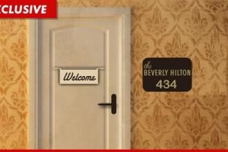 Oamenii vor sa doarma in camera de hotel in care a murit Whitney. Bobby Brown, interzis la funeralii