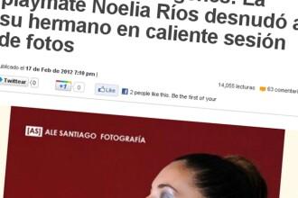 Fotografiile incestuoase care au scandalizat lumea. Un model brazilian, alaturi de fratele ei