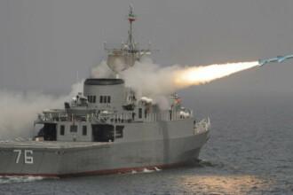 Israelul a trimis doua nave de razboi prin Canalul Suez.
