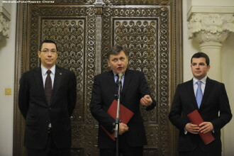 Victor Ponta: USL e de acord ca Romania sa semneze si sa ratifice Tratatul de guvernanta fiscala