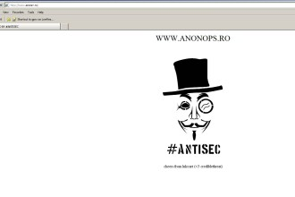 Anonymous a spart site-ul FMI Romania si acuza Guvernul ca foloseste software PIRATAT