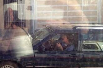 FOTO. Ultimul lucru pe care te astepti sa-l vezi in trafic. Soferul care nu mai poate deschide ochii