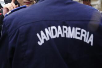 Un jandarm din Capitala a fost impuscat in picior de un coleg. Primele date din ancheta