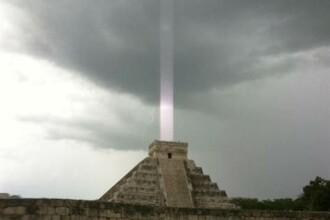 Profetie Maya, surprinsa cu ajutorul unui iPhone. Fotografia care arata sfarsitul