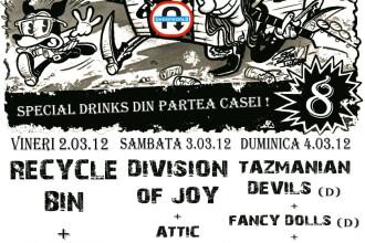 8 ani de Club UNDERWORLD: concerte de punk rock si rockabilly, party si afterparty