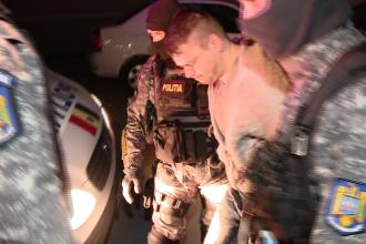 Sergiu Burkas, suspectul principal in cazul crimei de la Sinersig, a fost prins de politisti la Cluj