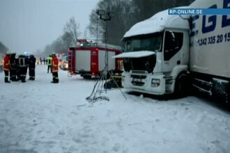 Soferul roman al unui autocar inmatriculat in tara noastra a murit intr-un accident in Germania