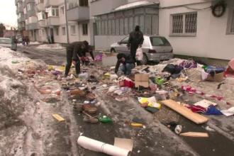 Scandal provocat de o femeie pe strada Prieteniei: