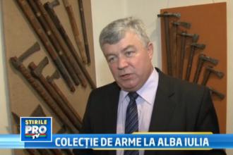 O colectia inedita, de peste 1.000 de arme, este expusa la Muzeul Unirii