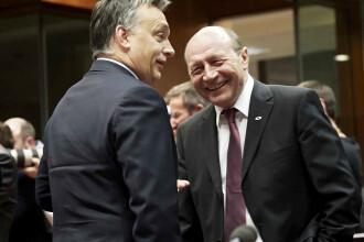 Basescu, intrebat de ce circula liber Viktor Orban in Covasna, Harghita:
