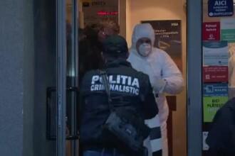 Jaf la o banca din Pitesti. Politistii au retinut deja un suspect - un traficant de droguri