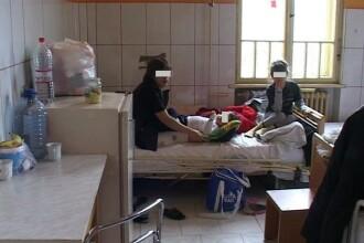 Cate doi sau trei copii intr-un pat de spital, la Arad, din cauza unui val de infectii respiratorii