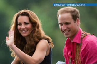 Fotografiile de vacanta cu Kate Middleton insarcinata. Cum au surprins-o paparazzi