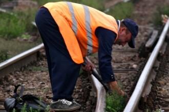 CAMERA ASCUNSA: Cat de usor se fura sinele de tren. Noua lege loveste in centrele de colectare
