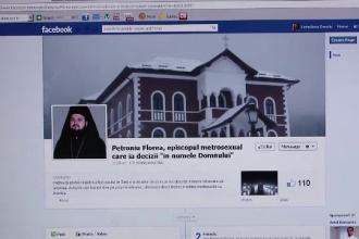 Protest pe Facebook impotriva unui episcop.