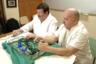 Premiera medicala regionala la Timisoara. Medicii folosesc o tehnica noua de scoatere a fierei