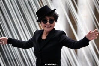 Yoko Ono a sarbatorit implinirea varstei de 80 de ani printr-un concert sustinut la Berlin
