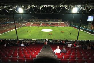 CFR - Inter, cu stadionul jumatate gol