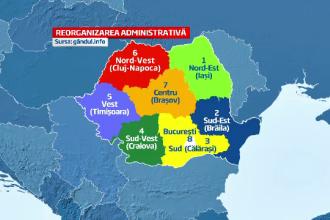 Dragnea: Legea privind regionalizarea va fi adoptata in noiembrie, dupa modificarea Constitutiei