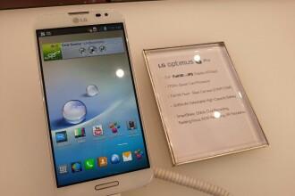 MWC 2013. George Buhnici prezinta VIDEO unul dintre cele mai asteptate telefoane, LG Optimus G Pro