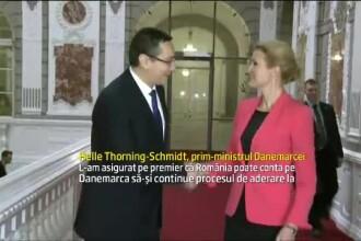 Premierul danez: