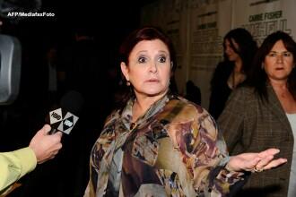 Carrie Fisher, interpreta printesei Leia din