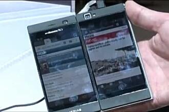 MWC 2013. Telefonul cu doua ecrane care se poate transforma intr-o mini tableta: Medias W N-05E