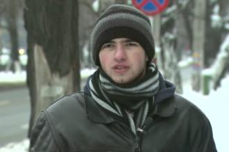 Iulian deszapezeste Capitala. Initiativa de laudat a unui student din Bucuresti care s-a saturat sa astepte dupa autoritati