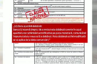 Prima banca din Romania obligata sa returneze clientilor 2 mil. de euro. Schema prin care a marit abuziv ratele cu 25 la suta