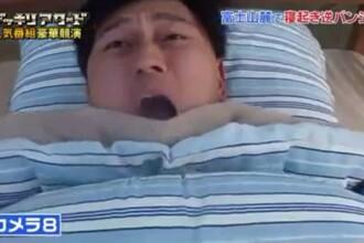 S-a trezit cu patul transformat in racheta, la propriu. Farsa incredibila de care a avut parte un japonez, in timp ce dormea