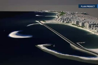 Soseaua de Coasta, drumul de vis construit pe bani europeni intre Mamaia si Constanta. Primii 3 km costa 10 milioane de euro