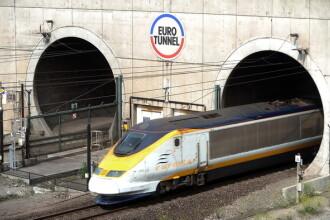 Trafic suspendat in Tunelul de sub Canalul Manecii. Un detector de fum s-a activat intr-unul dintre tuneluri