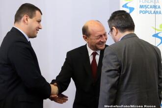 Presedintele PMP, Eugen Tomac, si-a botezat fiica. Traian Basescu si Elena Basescu, prezenti la petrecere. FOTO