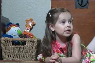 O fata in varsta de 3 ani are un IQ egal cu cel al unor genii ca Albert Einstein sau Stephen Hawking. VIDEO
