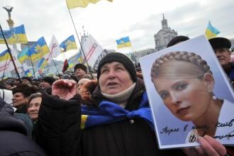 Iulia Timosenko cere judecarea lui Viktor Ianukovici pentru