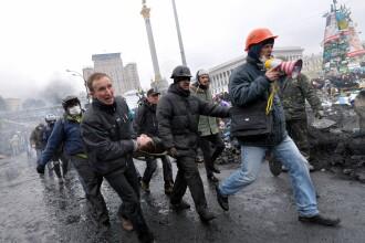 Baie de sange in Ucraina: Presedintia ucraineana sustine ca a ajuns la un ACORD cu ministrii UE. IMAGINI LIVE din Kiev