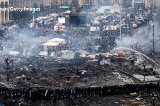 Euromaidan, revolutia care si-a luat numele de la un hashtag de pe internet. Momentele cheie ale celor 3 luni de revolte
