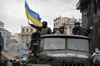 O drona a survolat Euromaidan din Kiev. Imagini unice din timpul protestelor care au dus la moartea a zeci de ucrainieni